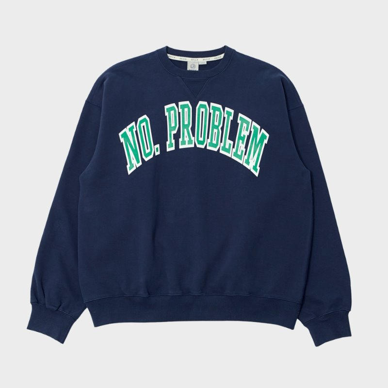 VARSITY SWEATSHIRT-990g heavy weight (NAVY)