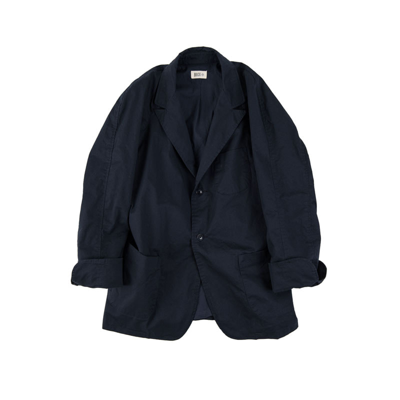 FOLDING CUFFS D-JACKET (NAVY)