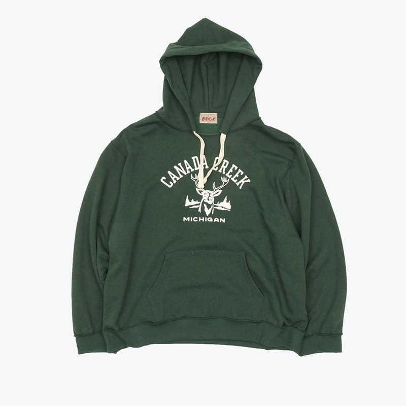 CANADA CREEK HOODY(ALPINE GREEN)