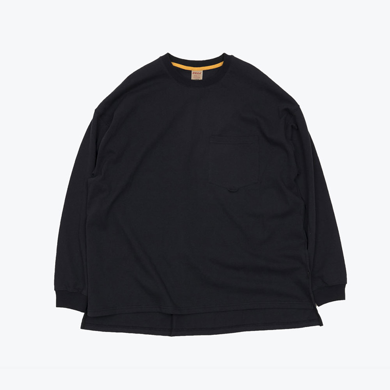 POCKET LOOP H/W TOP(NAVY)