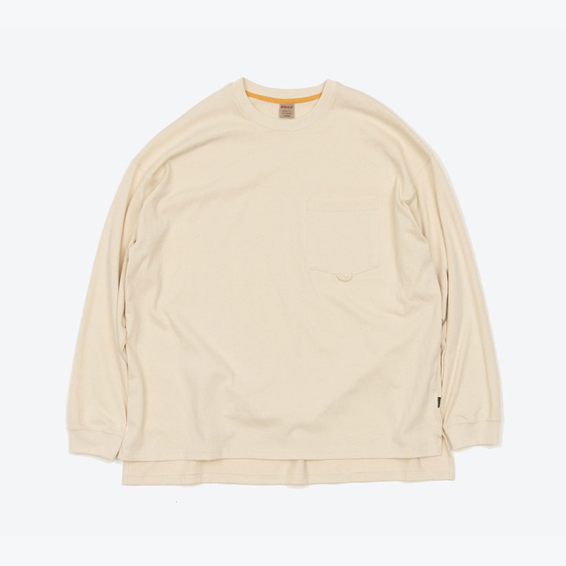 POCKET LOOP H/W TOP(CREAM)