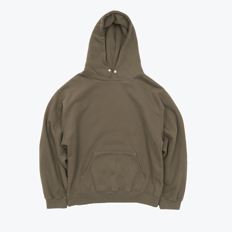 MELLOW-bio SNAP HOODY(DARK FOREST)