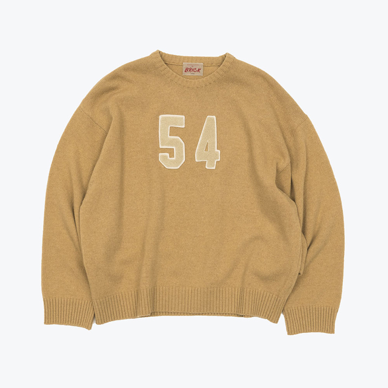 54 LAMBSWOOL SWEATER(SHEEPSKIN)