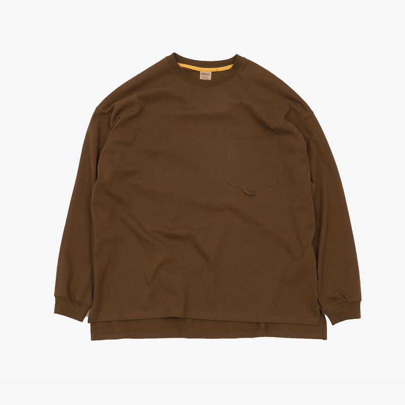 POCKET LOOP H/W TOP(BROWN)