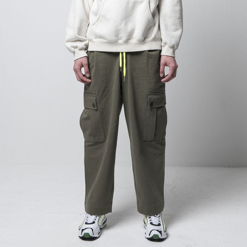 EFFECT CARGO PANTS(KHAKI)