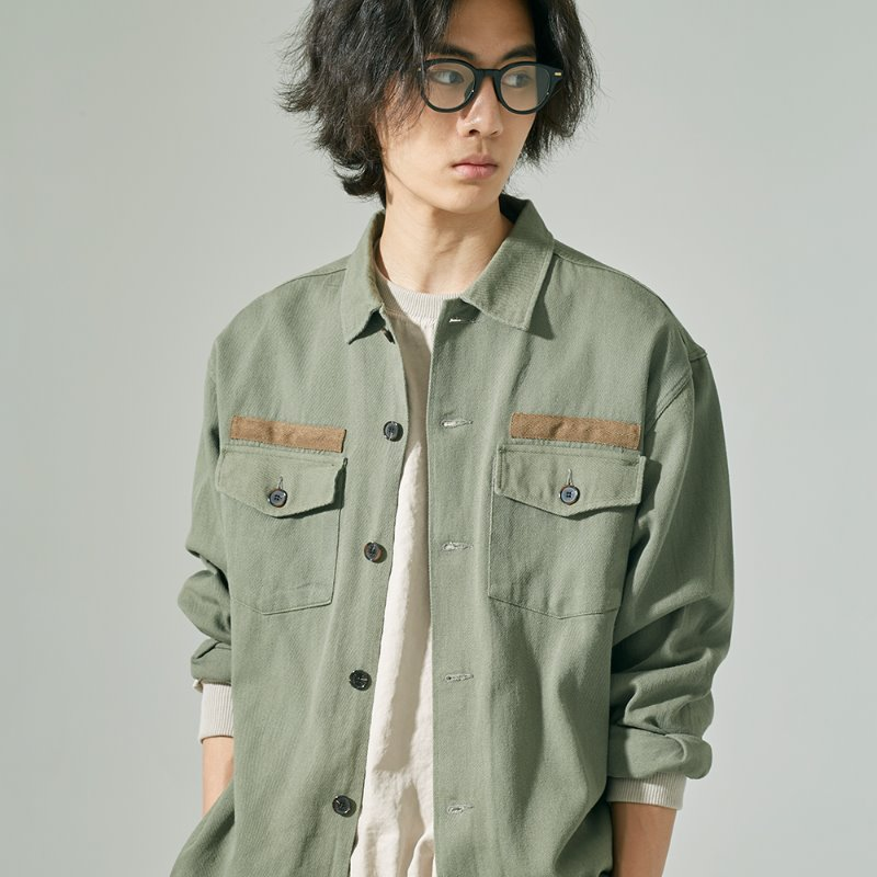AUT MIL FLUID JACKET (OIL GREEN)