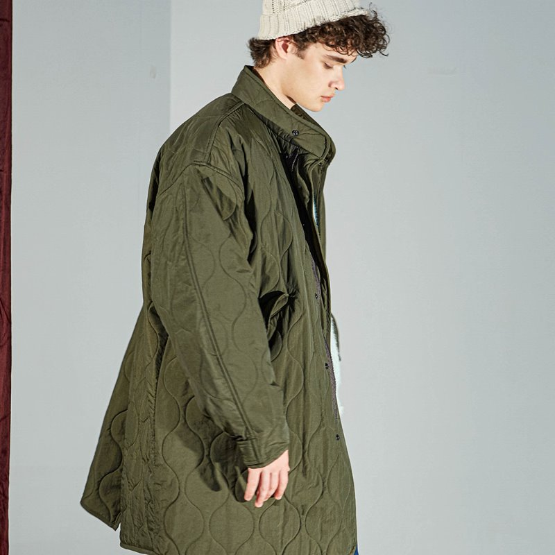 BUF FISHTAIL PARKA (DARK OLIVE)