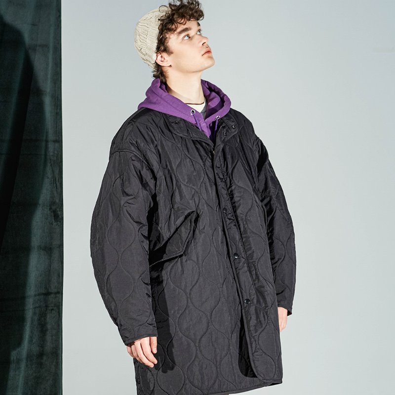 BUF FISHTAIL PARKA (JET BLACK)