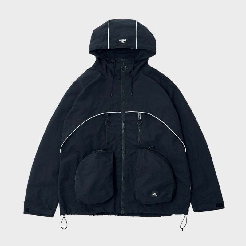 RAY LIGHT MOUNTAIN PARKA (BLACK)