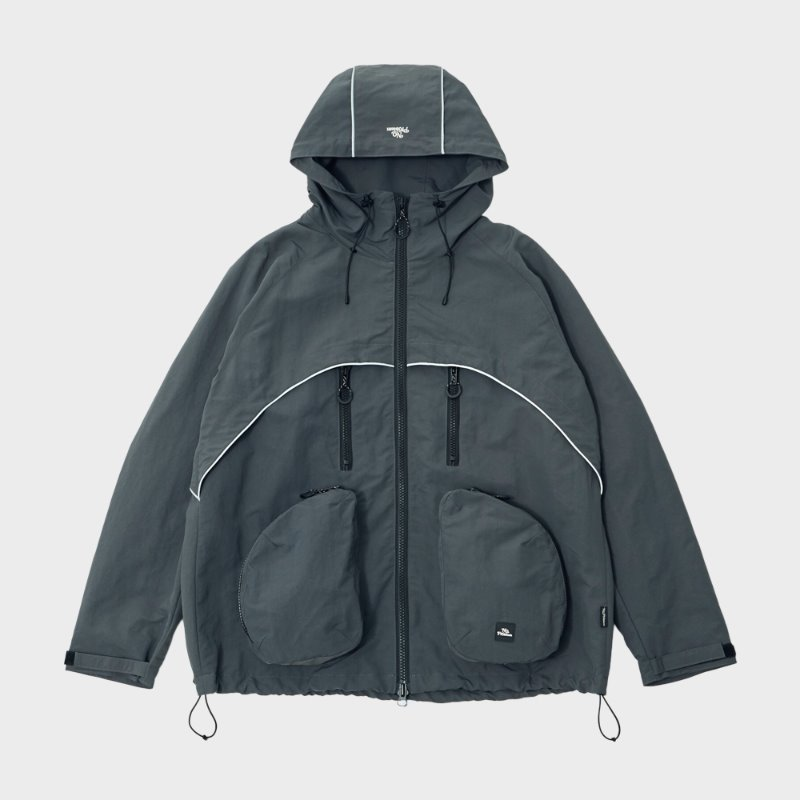 RAY LIGHT MOUNTAIN PARKA (GRAY)