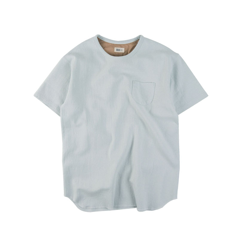CTN HALF T-SHIRTS (SKYBLUE)