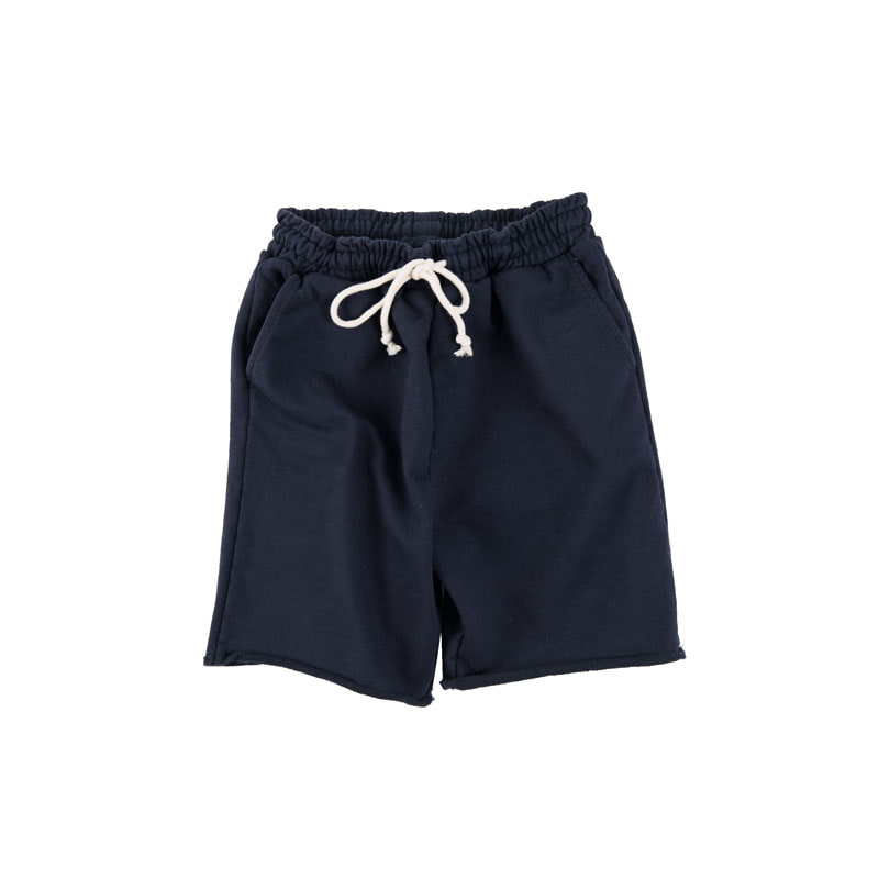 HARD JERSEY CUT SHORTS (NAVY)