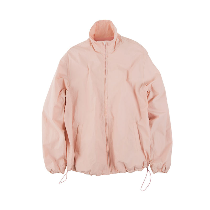 NYLON T-JACKET (BRIGHT PINK)